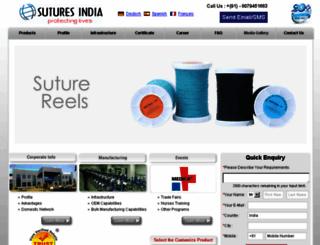 suturesin.com screenshot