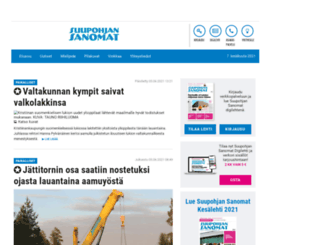 suupohjansanomat.fi screenshot