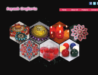 suyashcrafteria.com screenshot