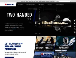 suzukimarine.com screenshot