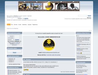 suzukivanvanmotoclub.com screenshot