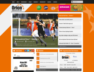 sv-orion.nl screenshot