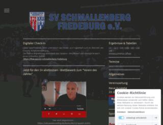 sv-schmallenberg-fredeburg.de screenshot