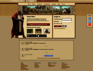 sv24.tribalwars.se screenshot