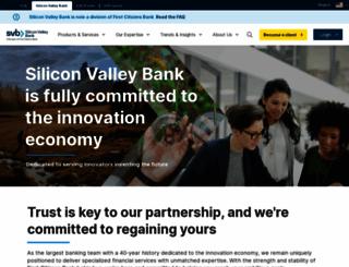 svb.com screenshot