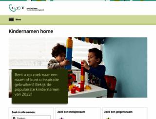 svbkindernamen.nl screenshot