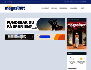 svenskamagasinet.nu screenshot