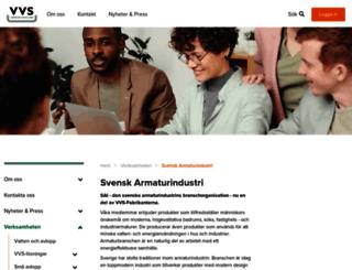 svenskarmaturindustri.se screenshot