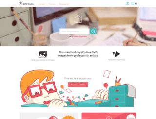 svg-studio.myshopify.com screenshot