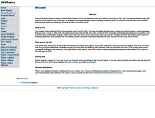 svgbasics.com screenshot
