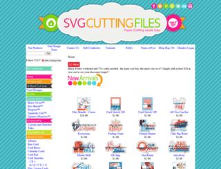 svgcuttingfiles.com screenshot