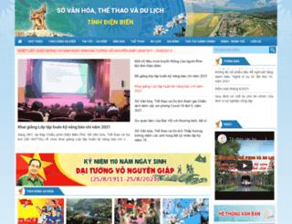 svhttdldienbien.gov.vn screenshot