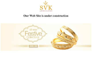 svkjewellers.com screenshot