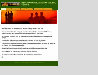 svmedicalcollege.org screenshot