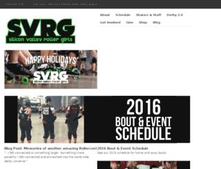 svrg.org screenshot