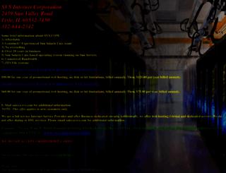 svs.com screenshot