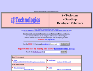 sw-technologies.com screenshot
