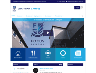 swaffham.focus-school.com screenshot