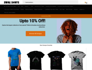 swagshirts99.com screenshot