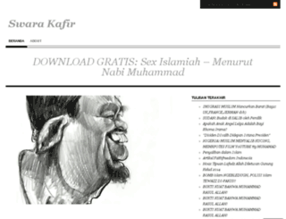 swarakafir.wordpress.com screenshot