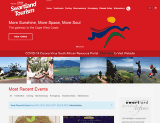 swartlandtourism.co.za screenshot
