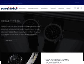 swatchgroup.com screenshot