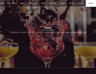 swaybar.co.uk screenshot