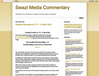 swazimedia.blogspot.com screenshot