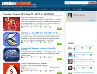 swedenandroid.com screenshot