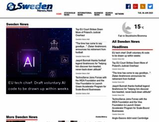 swedennews.net screenshot