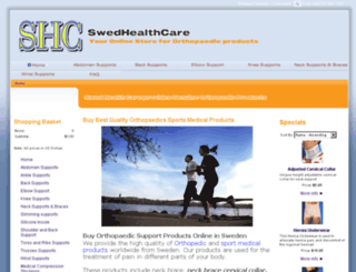 swedhealthcare.com screenshot