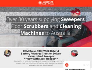 sweepersaustralia.com.au screenshot