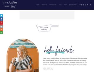 sweetandsavoryfood.com screenshot