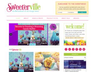 sweeterville.com screenshot