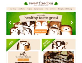 sweetfreedom.co.uk screenshot