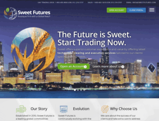 sweetfutures.com screenshot