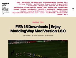 sweetpatch.tv screenshot