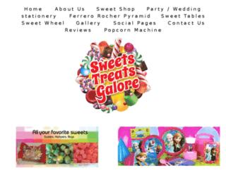 sweetstreatsgalore.com screenshot