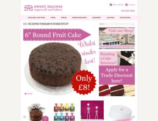 sweetsuccess.uk.com screenshot
