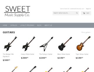 sweettoothdemo.myshopify.com screenshot