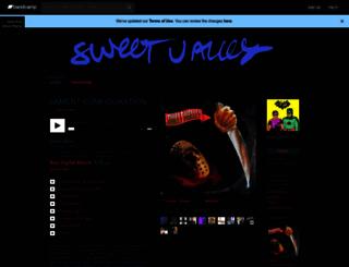 sweetvalley.bandcamp.com screenshot