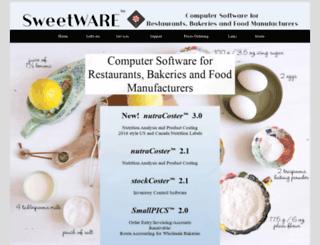 sweetware.com screenshot