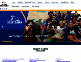 sweetwaterschools.org screenshot