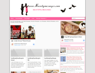 sweetymessages.com screenshot
