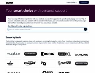 sweex.com screenshot