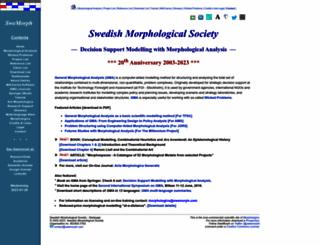 swemorph.com screenshot