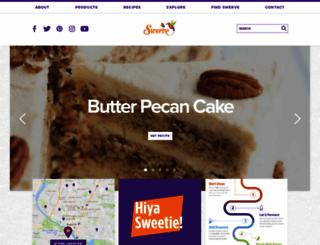 swervesweetener.com screenshot