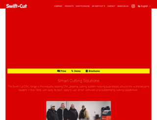 swift-cut.co.uk screenshot