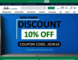 swiftgreenfilters.com screenshot