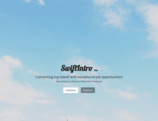 swiftintro.com screenshot